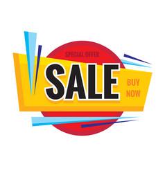 sale discount concept banner vector image