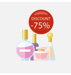 Sale of Household Appliances Parfum vector