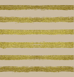 Seamless pattern with gold stripes vector