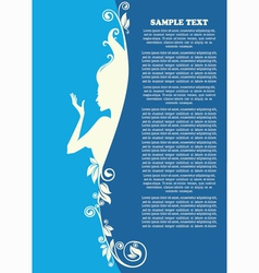 beautiful page vector image vector image