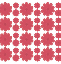 flower decorative seamless pattern design vector image