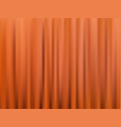 Brown closed theater curtain abstract vector