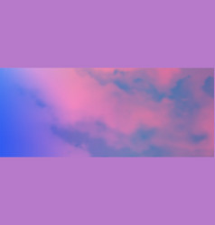 Contemporary abstract gradient sky background vector