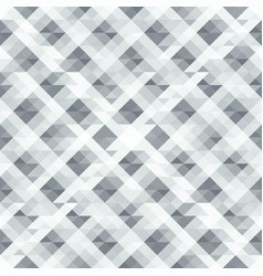gray seamless abstract pattern of triangles vector image