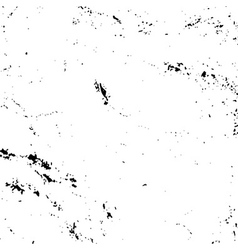 Grunge texture white and black vector image