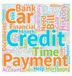 Life after Bankruptcy How to Restore Your Credit vector