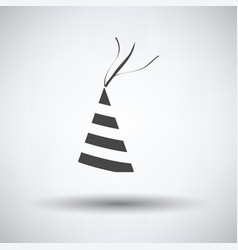 party cone hat icon vector image