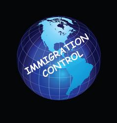 Representation immigration control vector