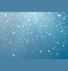 seasonal winter holiday snowfall festiveal vector image