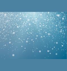 seasonal winter holiday snowfall festiveal vector image
