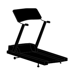 Sports Trainer Simulator Isolated vector image