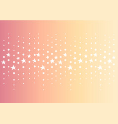 star dot line center abstract orange background vector image vector image