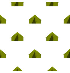 tourist or a military tent pattern flat vector image