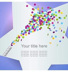 celebration5 vector image
