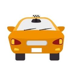 Taxi cab car vector