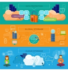 Data protection global storage vector