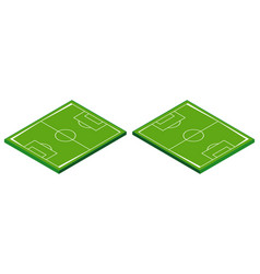 3d design for football field vector image