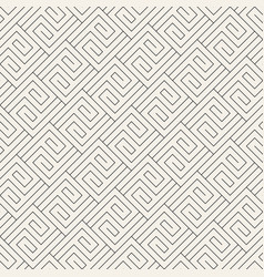 Abstract pattern with thin lines seamless vector