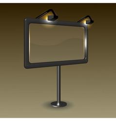 Billboard Frame vector image