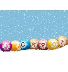 bingo lottery jackpot vector image