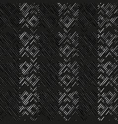 monochrome ancient pattern with grunge effect vector image