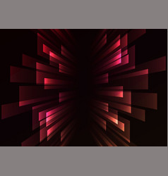 multicolor overlap stripe rush in dark background vector image