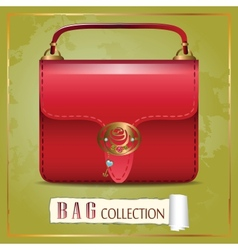 Red Bag vector image