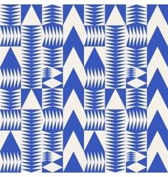 Seamless Blue Abstract Geometric Irregular vector image vector image
