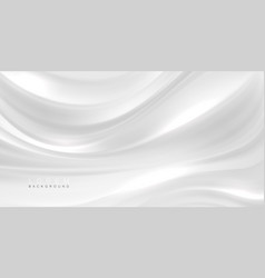 Smooth elegant white silk or satin texture can use vector