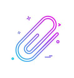 web link icon design vector image