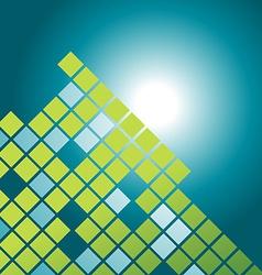 mosaic pattern design vector image