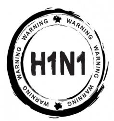 swine flu vector image vector image