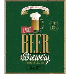 beer2 vector image
