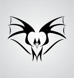 Tribal Bat vector image vector image