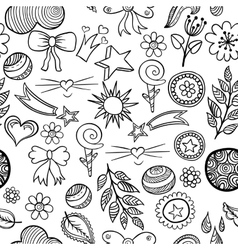 set of fashionable patches elements like vector image vector image