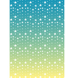 star and dot line tropical abstract background vector image