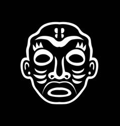 Black and white sticker vector