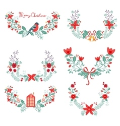 Colorful Christmas banners vector image