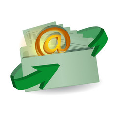 Envelope and email vector