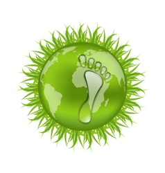 Go green concept save our planet vector