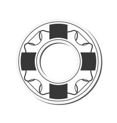 life preserver icon vector image