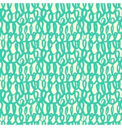 Pattern inspired by old fishermans net or sweater vector