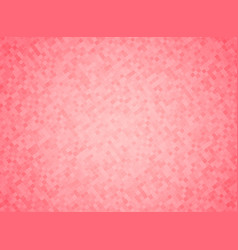 Pink color mosaic background vector
