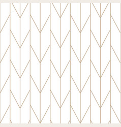 Seamless geometric outline simple pattern vector