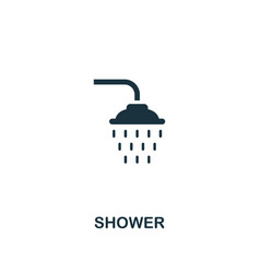 shower icon premium style design from hygiene vector image