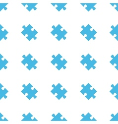 Unique Puzzle seamless pattern vector image