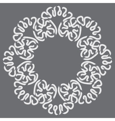 frame lace vector image vector image