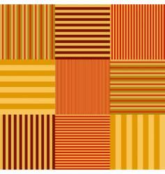 stripe set seamless vector image vector image
