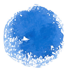 abstract watercolor blue spot banner vector image vector image