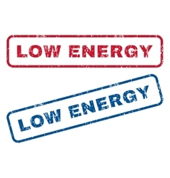 Low Energy Rubber Stamps vector image